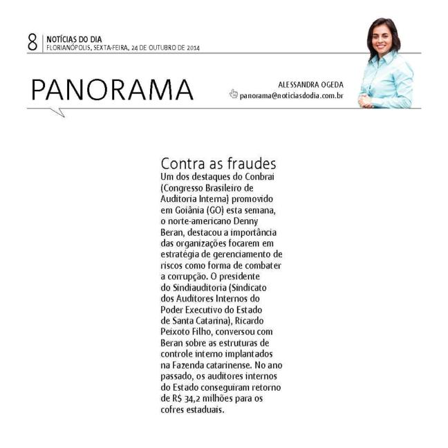 2410 - Notícias do dia - Panorama