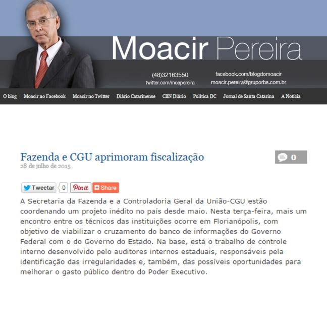 2807 - Moacir Pereira - Fazenda e CGU aprimoram fiscalização cor
