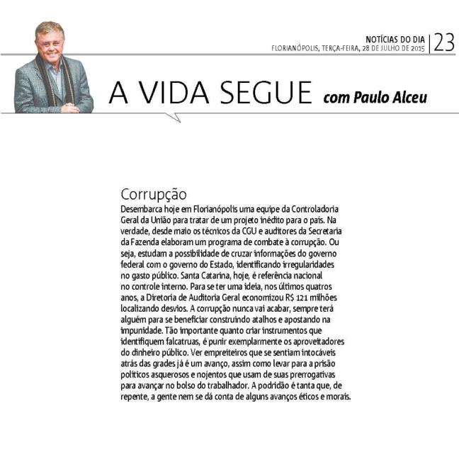 2807 ND Paulo Alceu - Corrupção