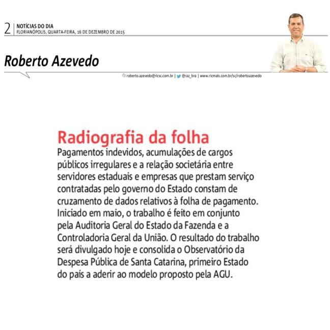 16122015 - ND - Roberto Azevedo - Radiografia da folha