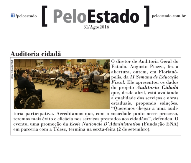 310816 - Pelo Estado - Auditoria cidadã