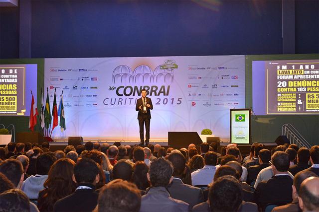 A última edição do Conbrai foi em Curitiba (Foto: IIABrasil/ Divulgação)