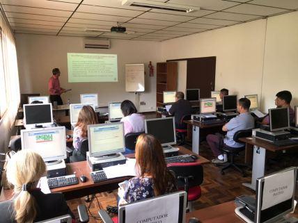 A primeira etapa da capacitação ocorreu no dia 27 de novembro na Fundação ENA